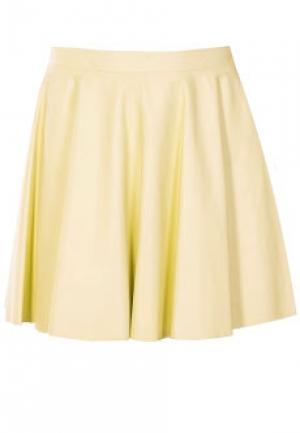 Юбка DROME. Цвет: желтый