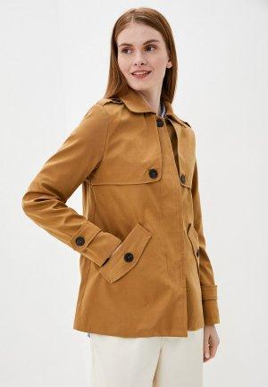 Куртка Tantra. Цвет: коричневый