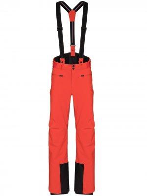 Лыжные брюки Tom Fusalp. Цвет: оранжевый