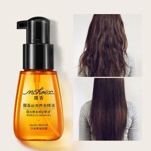 Эфирное масло для завивки волос SHEIN. Цвет: прозрачный