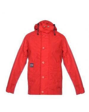 Куртка HENRI LLOYD. Цвет: красный