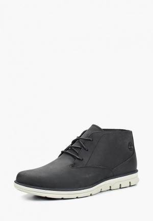 Ботинки Timberland BRADSTREET PT CHUKKA PHANTOM. Цвет: черный