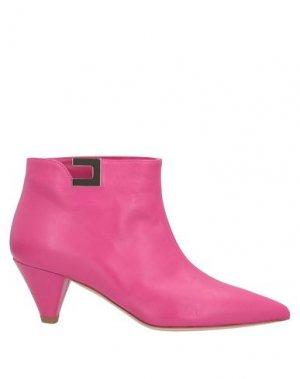 Полусапоги и высокие ботинки ELISABETTA FRANCHI. Цвет: фуксия
