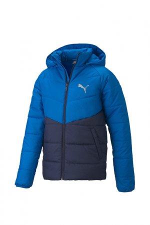 Куртка CB Padded Jacket B Puma. Цвет: синий