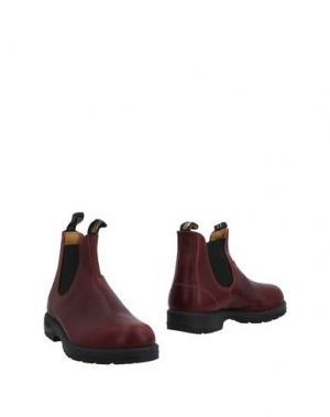 Полусапоги и высокие ботинки BLUNDSTONE. Цвет: красно-коричневый