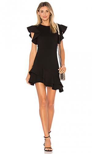 Платье eclipse Amanda Uprichard. Цвет: черный