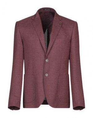 Пиджак EREDI DEL DUCA. Цвет: красно-коричневый