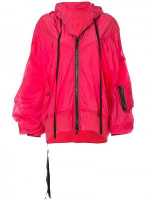 Куртка-дождевик с капюшоном Unravel Project