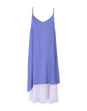 Платье длиной 3/4 2ND DAY. Цвет: фиолетовый