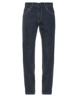 Повседневные брюки BARBOUR. Цвет: темно-синий