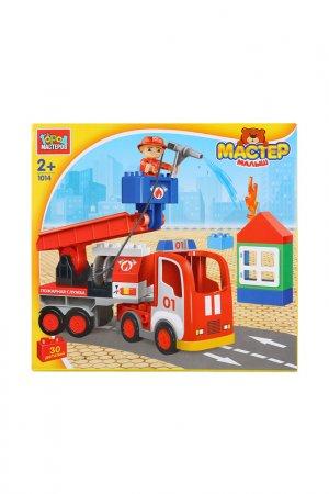 Пожарная Машина, 30 деталей Город мастеров. Цвет: красный