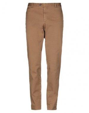 Повседневные брюки HISTORIC. Цвет: верблюжий