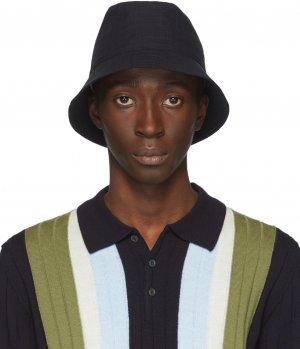 Navy Ostro Bucket Hat Barena. Цвет: 170 navy