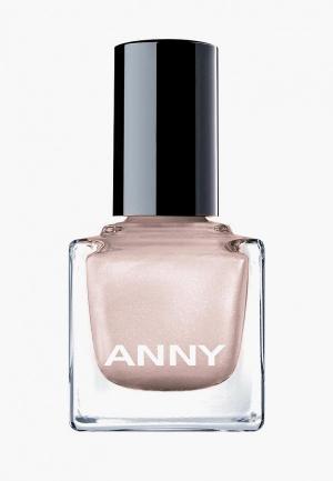 Лак для ногтей Anny тон 253 перламутровая ракушка. Цвет: бежевый