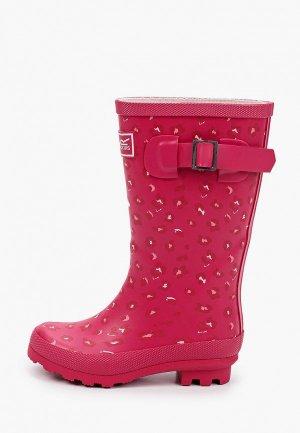 Резиновые сапоги Regatta Fairweather Jnr. Цвет: розовый