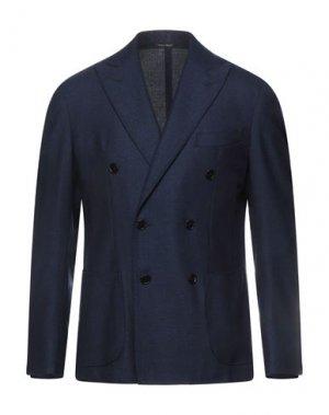Пиджак GABO Napoli. Цвет: темно-синий