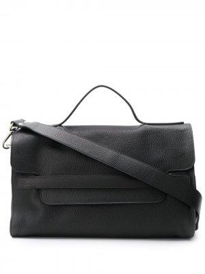 Большая сумка-тоут Nina Zanellato. Цвет: черный