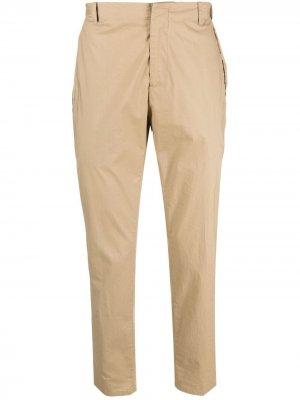 Укороченные брюки чинос Provetta с завышенной талией Daniele Alessandrini. Цвет: нейтральные цвета