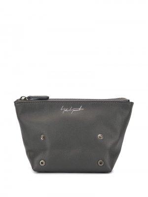 Дорожная сумка с логотипом Discord Yohji Yamamoto. Цвет: серый