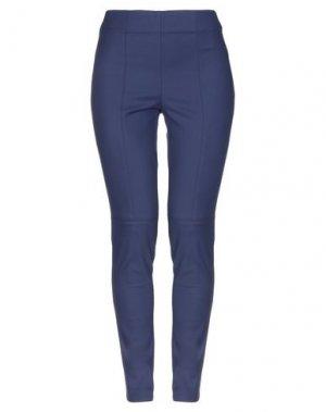 Повседневные брюки ANGELO MARANI. Цвет: темно-синий