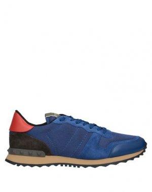 Кеды и кроссовки VALENTINO GARAVANI. Цвет: синий