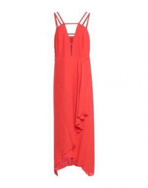 Длинное платье LALA BERLIN. Цвет: красный