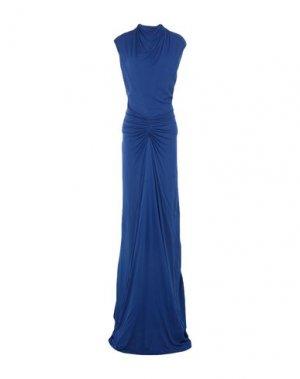 Длинное платье ISSA. Цвет: ярко-синий