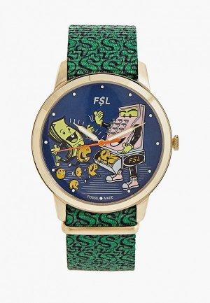 Часы Fossil LE1103. Цвет: зеленый