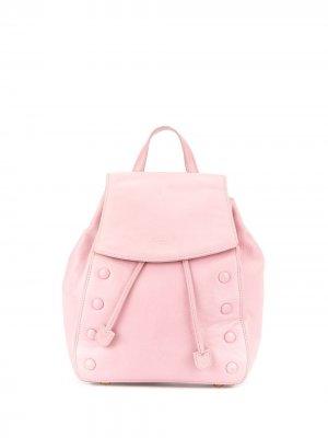 Рюкзак с тисненым логотипом Céline Pre-Owned. Цвет: розовый