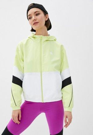 Ветровка Anta Lifestyle. Цвет: зеленый