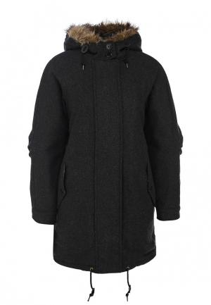 Парка Fred Perry Wool Parka. Цвет: серый