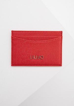 Визитница Liu Jo. Цвет: красный