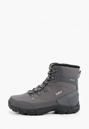 Ботинки CMP RAILO WP. Цвет: серый