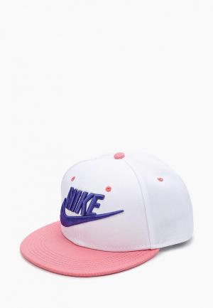 Бейсболка Nike Futura True Kids Adjustable Hat. Цвет: белый