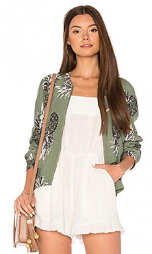 Куртка delaney BB Dakota. Цвет: серовато-зеленый