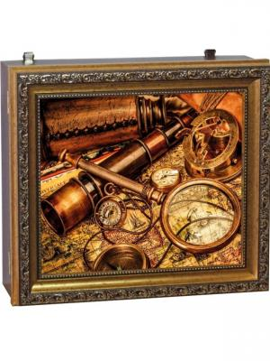 Ключница настенная Мастер Рио. Цвет: золотистый