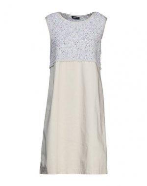 Короткое платье ANNECLAIRE. Цвет: бежевый