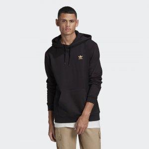 Худи Trefoil Essentials Originals adidas. Цвет: черный