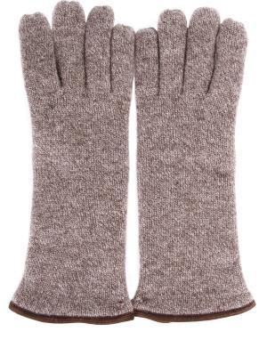 Перчатки Svevo. Цвет: коричневый