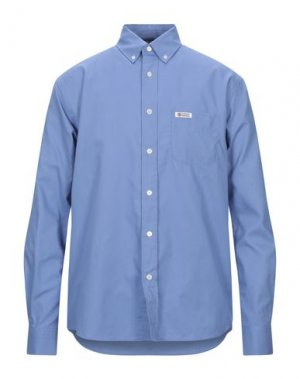 Pубашка FRANKLIN & MARSHALL. Цвет: лазурный