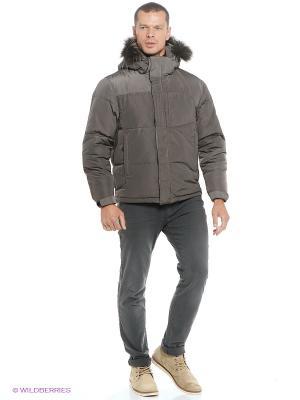 Куртка EVOLUTION. Цвет: темно-серый