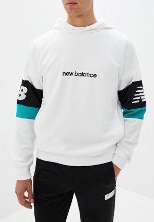 Худи New Balance NB ATHLETICS CLASSIC HOODIE. Цвет: белый