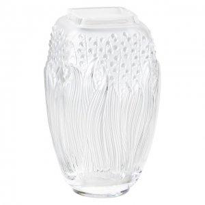 Ваза Muguet Lalique. Цвет: прозрачный