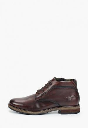 Ботинки Bugatti. Цвет: коричневый