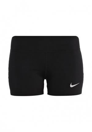 Шорты спортивные Nike W NK PWR EPIC RUN SHORT 3IN. Цвет: черный