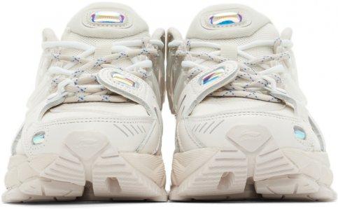 White Furious Rider Ace 1.5 Sneakers Li-Ning. Цвет: white