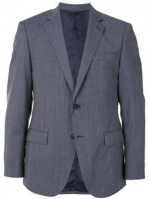 Durban костюм узкого кроя с однобортным пиджаком D'urban. Цвет: синий