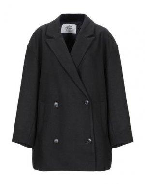 Пальто CHEAP MONDAY. Цвет: черный