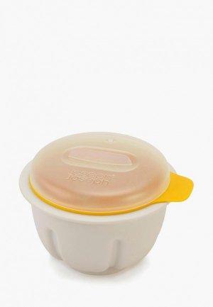 Форма для варки яиц Joseph M-Poach. Цвет: белый