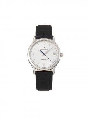 Наручные часы Master Control pre-owned 34 мм 1998-го года Jaeger-LeCoultre. Цвет: серебристый